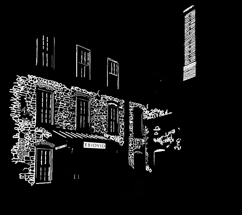 Illustration of the BioVid office